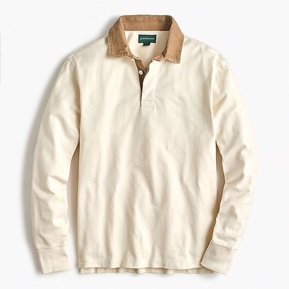 0070be67841 J. Crew Shirts   Jcrew 1984 Corduroy Collar Rugby Shirt   Poshmark